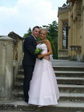 na svatbě mé sestry :)