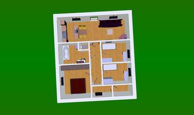 11,5 x 10m - s tech. místnůstkou