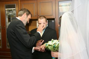 předání nevěsty:)