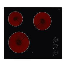 LAGAN HGC3K Sklo-keramická doska, čierna