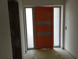 Moje oranzove dvere