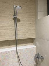 Hostovska kuplka - sprcha