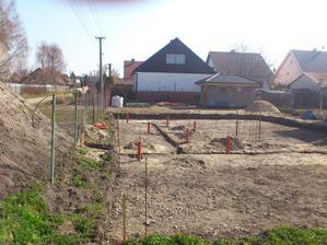 Marec 2014, kanalizácia.