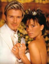 David Beckham a Victoria Adams