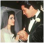 Elvis Presley a Priscilla Presley