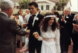 Johnny Depp a Lori Anne Allison (1983)
