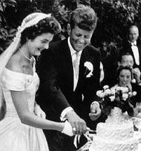 John Fitzgerald Kennedy a Jacgueline Lee Bouvier