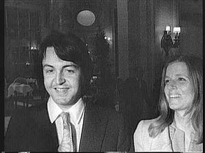 Sir Paul McCartney a Linda McCartney