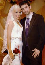 Christina Aguilera a Jordan Bratman