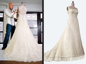Sandra Bullock a Jesse James - šaty