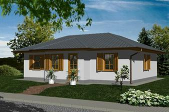 a takto nejak bude vyzerať náš domček, ktorý sme si začali stavať