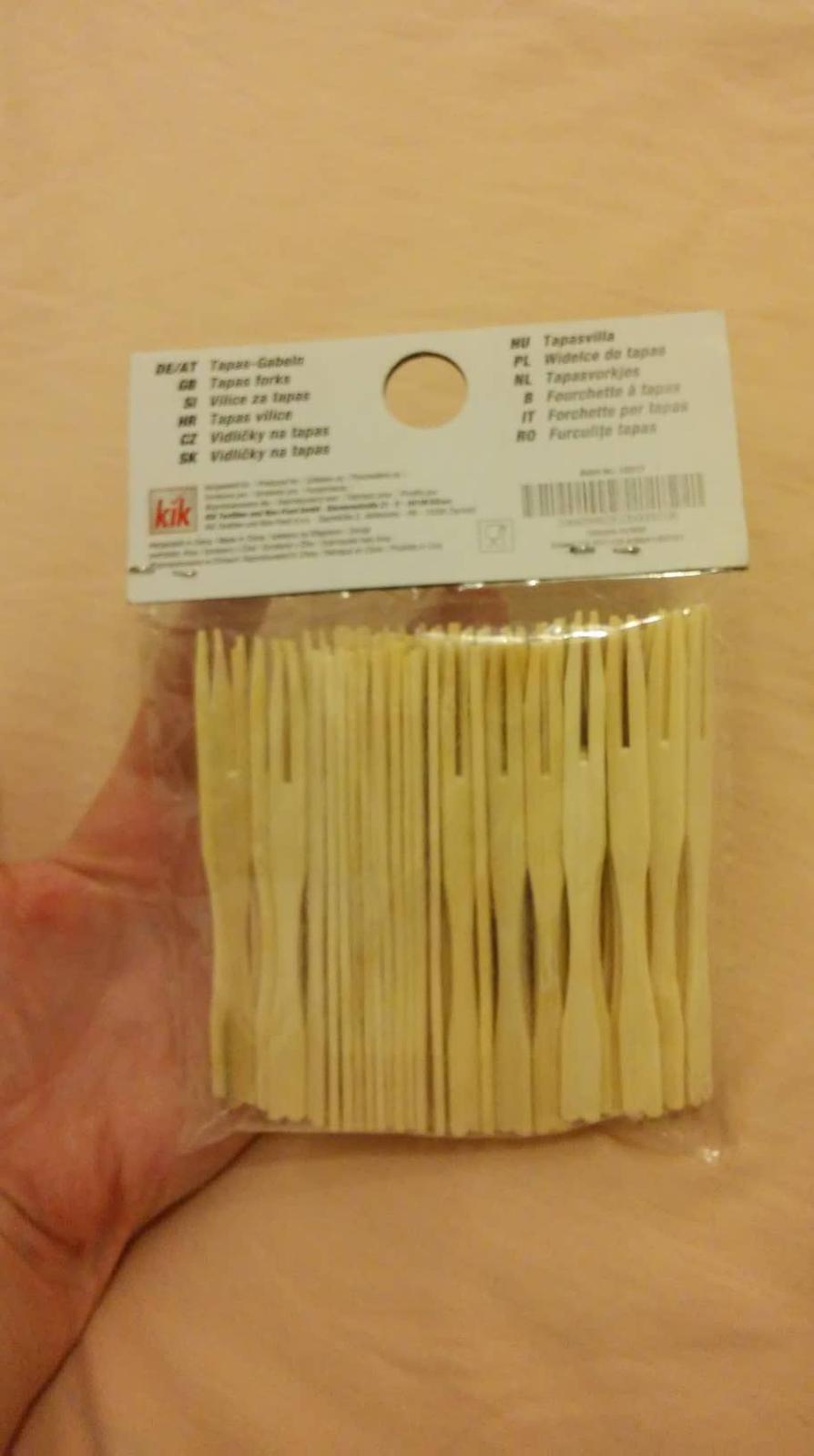 drevené vidličky - Obrázok č. 1