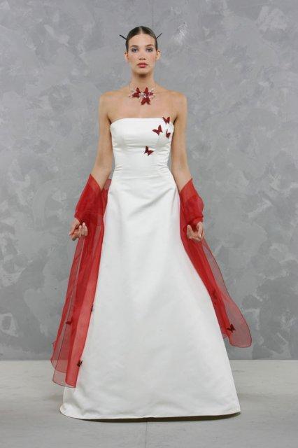 Svatební šaty - růžové i červené až do bordó - Obrázek č. 7