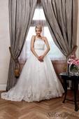 Svatební šaty velikost 38-42 ze salonu , 38