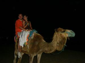 svadobná cesta: Tunisko