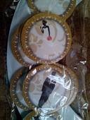 Svadobné košíčky na muffiny,