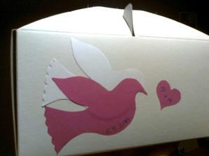 takhle bych chtěla ozdobit krabičky :-)