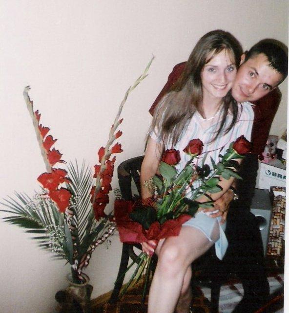 Gabriela a František - naše zásnuby