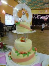 nasa svadobna torta =)