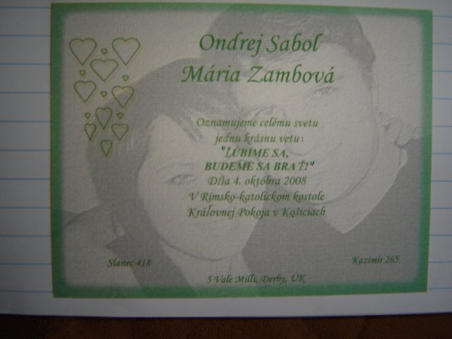 Mayka a Ondrej 4.10.2008 - Obrázok č. 2