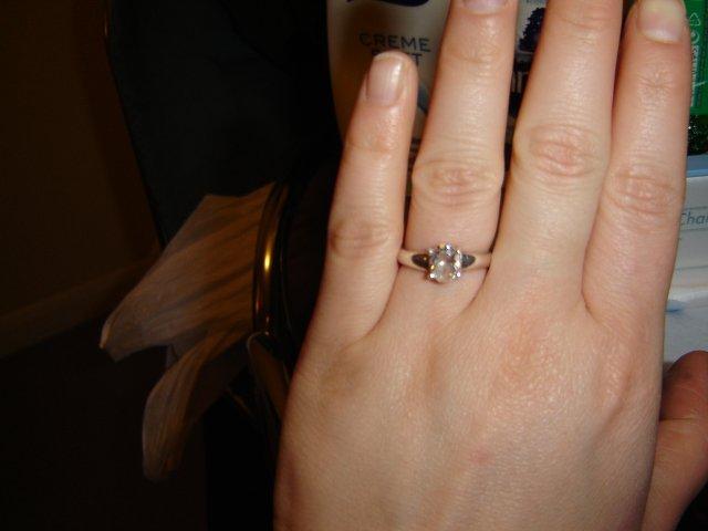 Mayka a Ondrej 4.10.2008 - snubny prstienok