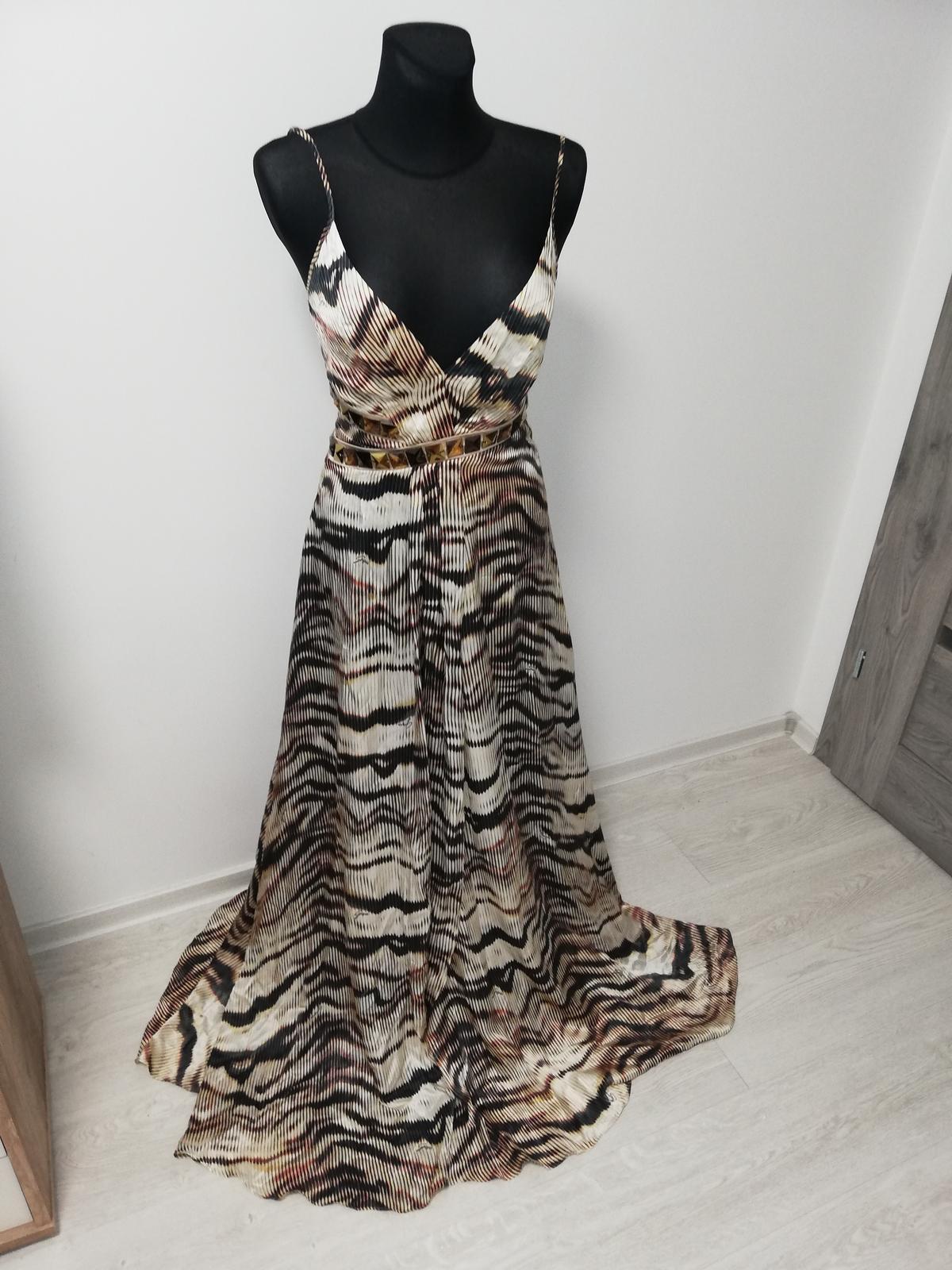 Luxusne spoločenské šaty - Obrázok č. 3