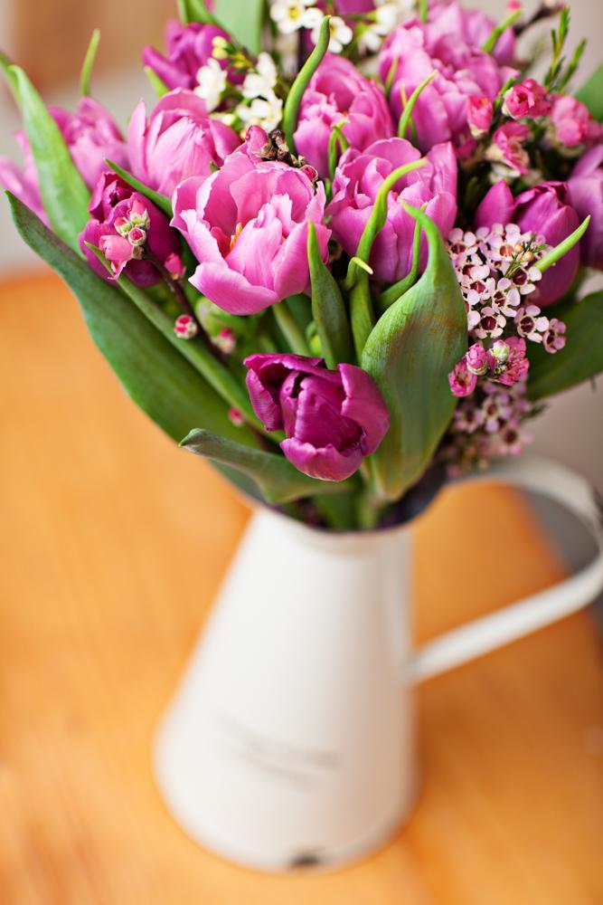 Jarne a letne aranzmany a dekoracie - Jarna kytice domacej vyroby