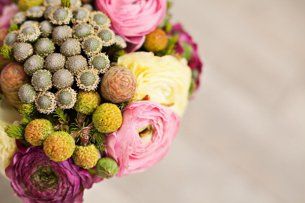 Jarne a letne aranzmany a dekoracie - detail jarnej kyticky