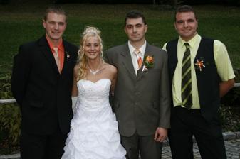 můj manžel a moji švagři