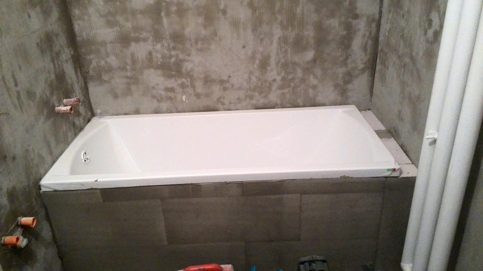 Rekonstrukce koupelny - Obyčejná, ale pro nás krásná :-)