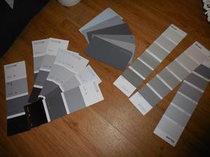 vybíráme novou barvu do obýváku