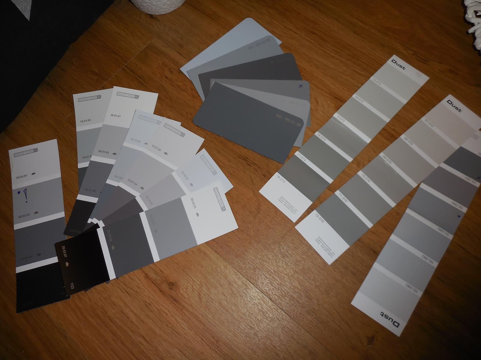 Náš domov :-) - vybíráme novou barvu do obýváku