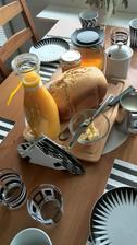 Francouzská Brioška z domácí pekárny...(já vím, tvar neodpovídá) snad bude chtnat :-)