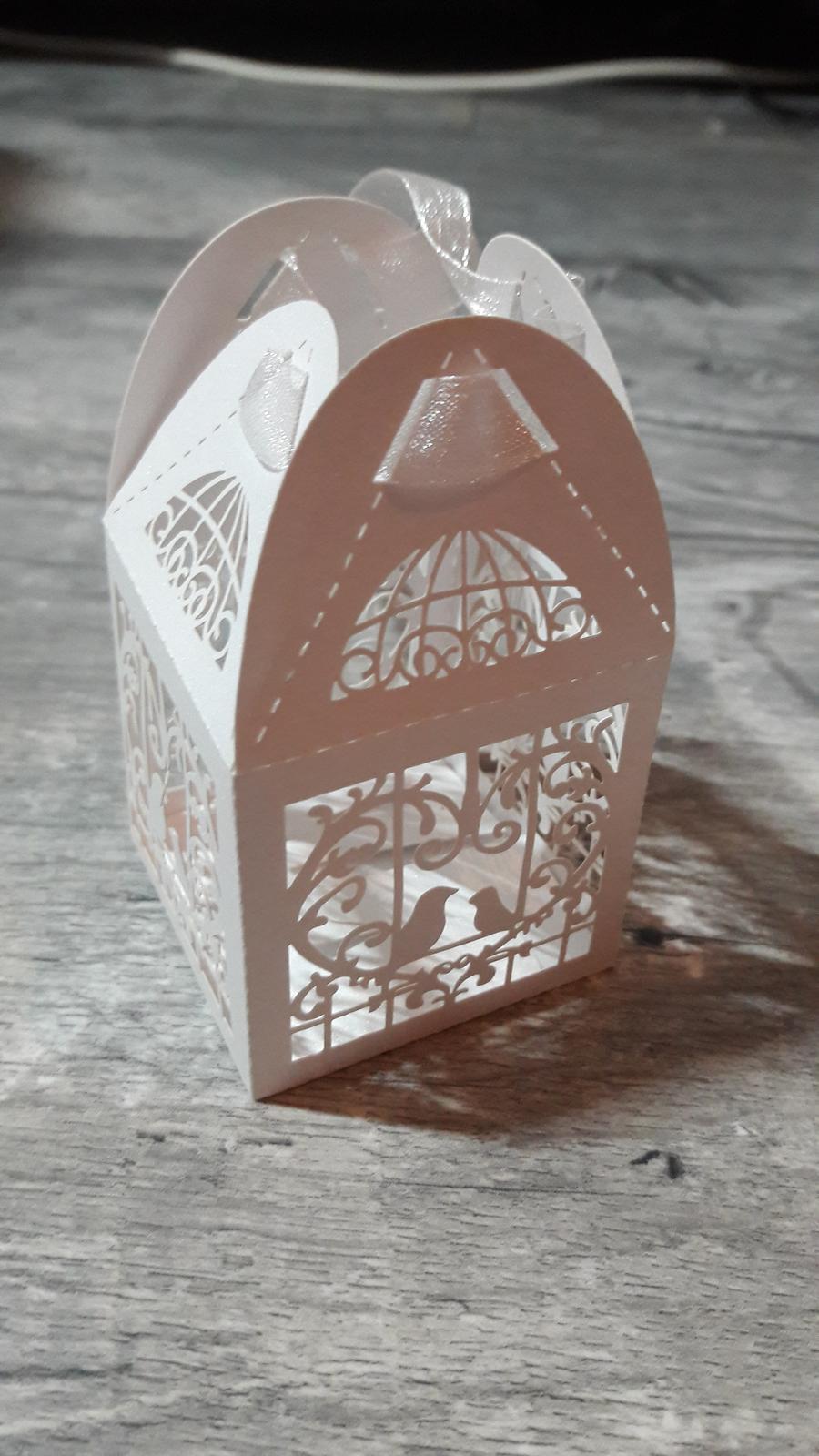 Krabička klec na mandle - Obrázek č. 1