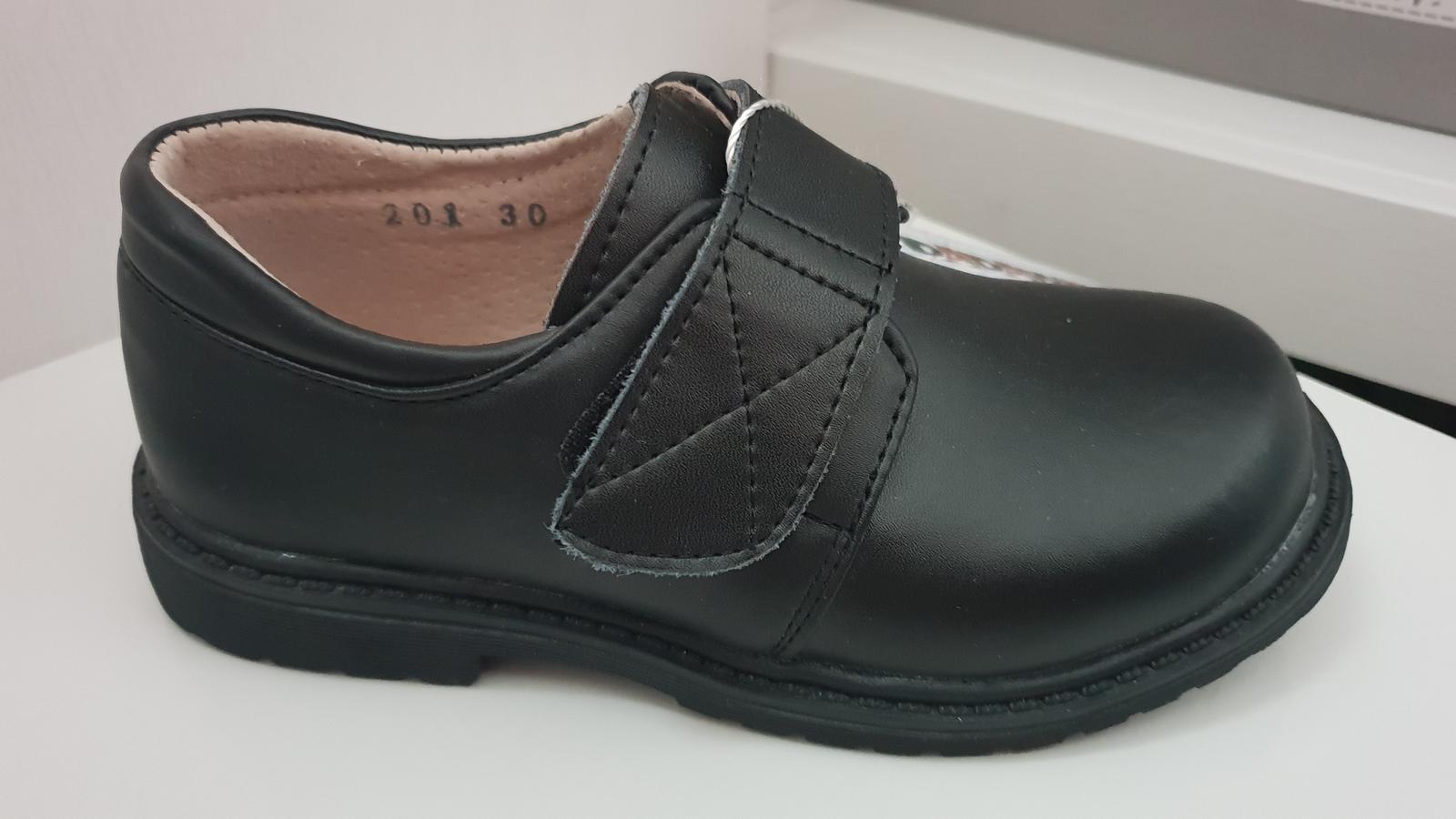 svatební chlapecké boty n o v é - Obrázek č. 1