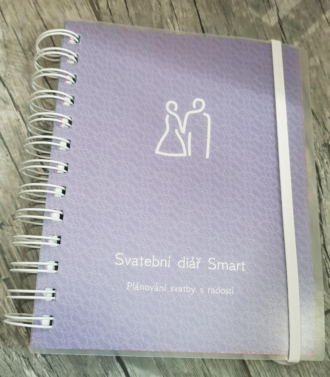 Svatební diář n o v ý   SMART - Obrázek č. 1