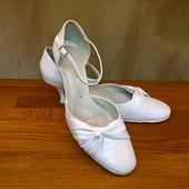 Bílé svatební boty 41, 41