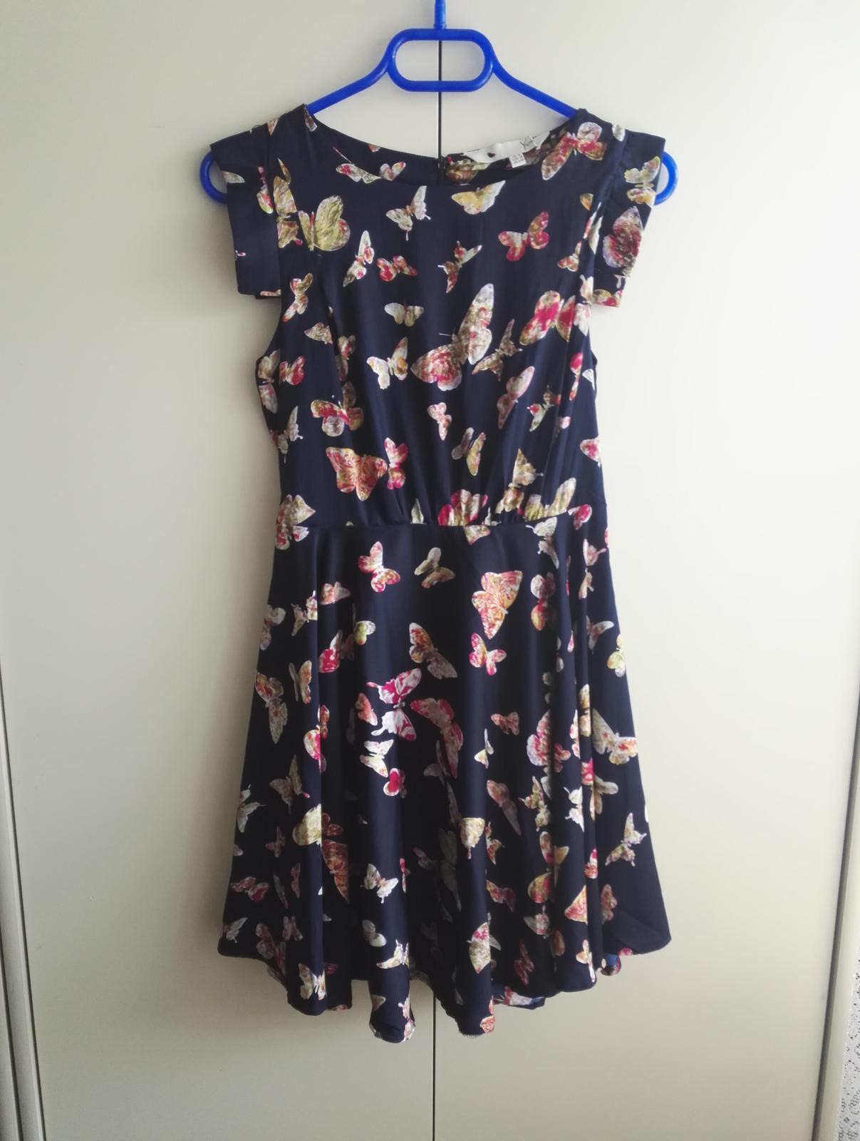 Motýlikové šaty - Obrázok č. 1
