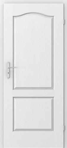 Inspirace do domku - Do celeho domku pojedou obycejne bile dvere Porta doors London