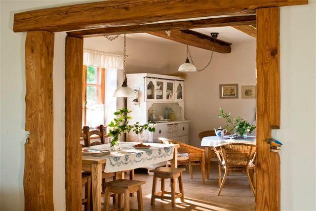 Inspirace do domku - Tohle je presne moje predstava o kuchyni, takhlo to chci.
