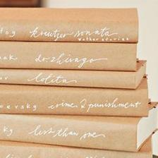 Tenhle obal inspiroval mne tak, ze do knihovny v jidelne jsem vsechny knizky obalila do jednobarevniho baliciho papiru