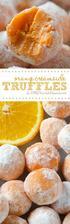 White Chocolate Orange Creamsicle Truffles