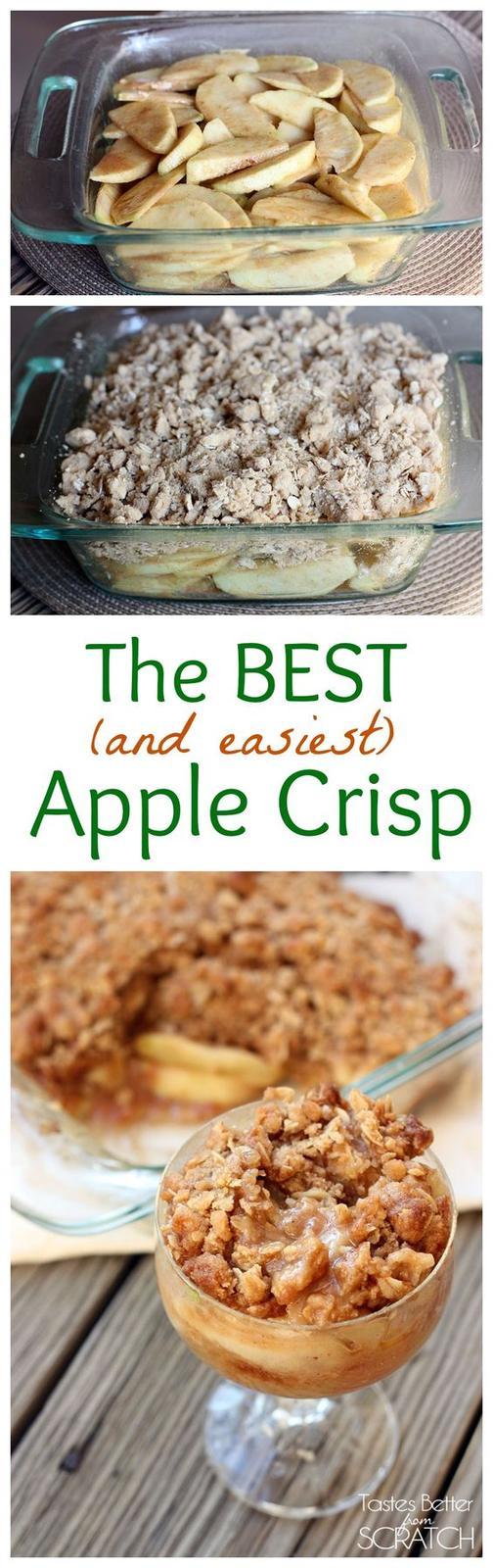 Americké koláčky - Apple Crisp