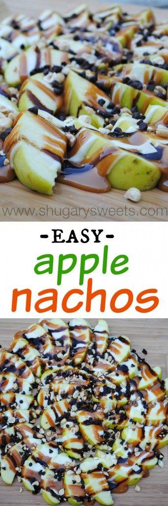 Americké koláčky - Apple Nachos