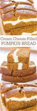 Cream Cheese-Filled Pumpkin Bread