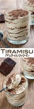 Easy Tiramisu Mousse