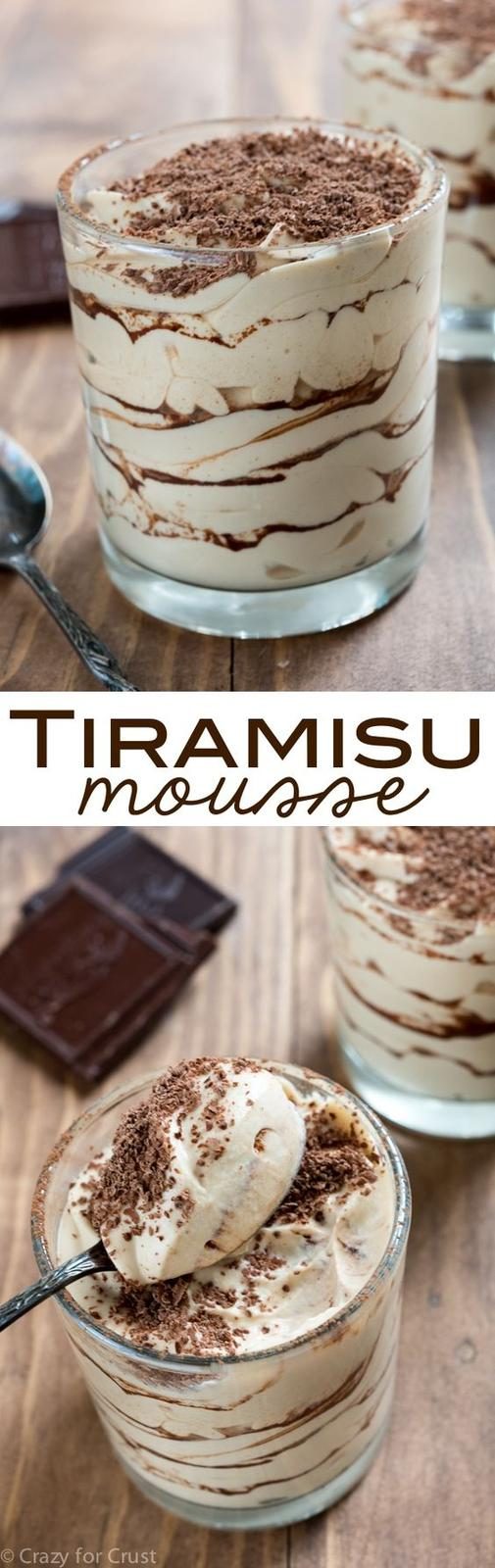 Americké koláčky - Easy Tiramisu Mousse