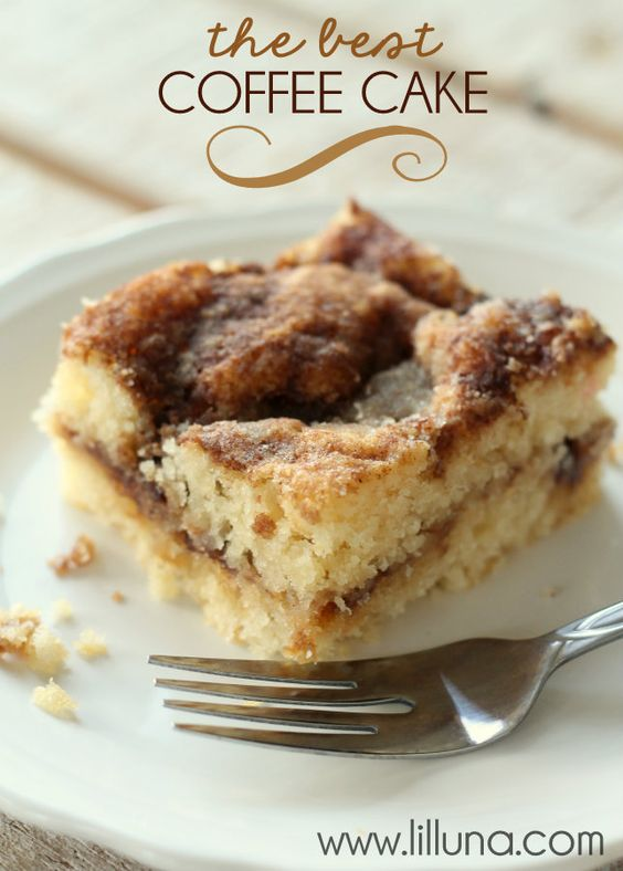 Americké koláčky - Coffee Cake