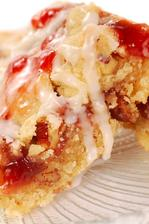 Strawberry Coffee Cake with Pecan