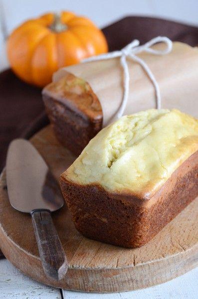 Americké koláčky - pumpkin cream cheese bread
